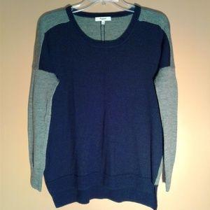 Madewell Long Sleeved Merino Wool Pullover Sweater